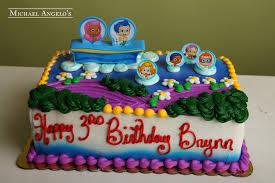 Bubble Guppies Cake Decorating Kit by Bubble Guppies Party Time 183characters Michael Angelo U0027s Bakery
