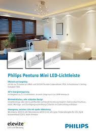 philips pentura mini led lichtleiste elevite ag