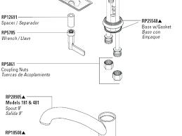 Glacier Bay Faucet Leaking Base by Wondrous Moen Bathroom Faucets Parts Awesome Glacier Bay Kitchen