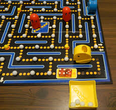 Gobbling Marbles In Pac Man Board Game