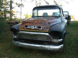 100 1957 Gmc Truck GMC 100 SWB Stepside TRUCK BODY Moonshiner Special Project