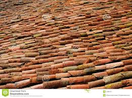antique roof tiles stock image image of protection weathered