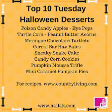Pumpkin Mousse Trifle Country Living by Hallak Cleaners Hallak U0027s Top Ten Tuesday Halloween Dessert Ideas