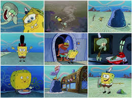 SpongeBob Pizza Delivery Scenes In Order Quiz