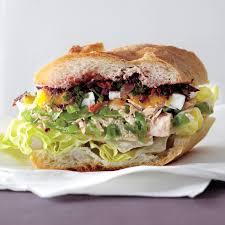 Nicoise Salad Sandwich