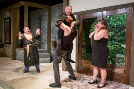 A Hilarious Evening Ensues As We Discover Robert And Jacqueline Are Secret Lovers The Cook Is Mistaken For Mistress Unable To