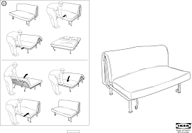 Ikea Sectional Sofa Bed Instructions by Sofa Bed Instructions Revistapacheco Com