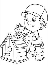 Free Printable Bird House Coloring Pages