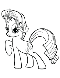 Rainbow Dash Coloring Page My Little Pony Pages Plus