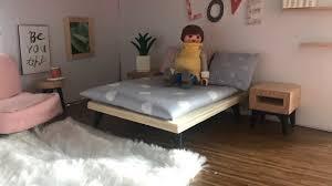 pimp my playmobil schlafzimmer einrichten im diy puppenhaus svenjas schlafzimmer familie bäcker