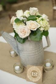 Vintage Watering Can Centerpiece