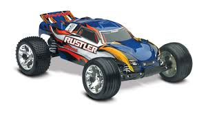 Traxxas Rustler 1/10 Scale Stadium Truck With TQ 2.4 GHz Radio ...