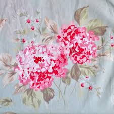 Simply Shabby Chic Curtains Pink by Hydrangea Fabric