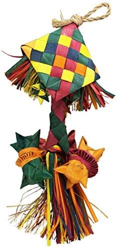 Planet Pleasures Bird Rattle Piñata Bird Toy