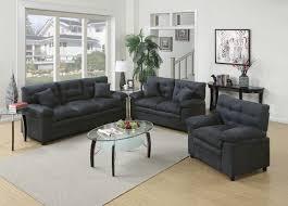 Living Room Sets Under 1000 by Amazon Com Poundex Bobkona Colona Mircosuede 3 Piece Sofa And