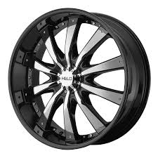 100 Helo Truck Wheels Amazoncom HE875 Gloss Black Wheel With Removable Chrome