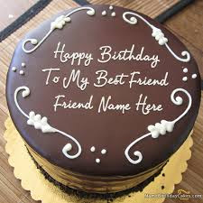 chocolate cakes friends cakes and cake ideas image best friend birthday