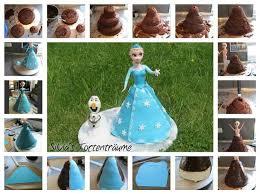 s tortenträume elsa eiskönigin olaf torte cake