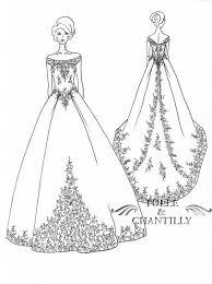 Best Designer Sketches Of Gowns Gallery