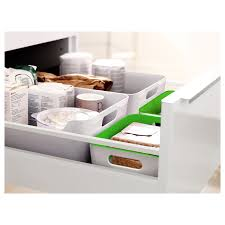 variera box weiß 34x24 cm