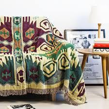 canapé style indien haute qualité style indien 100 coton et épaissir couverture
