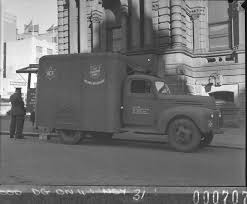 Australian Comforts Fund - Salvation Army Canteen Truck Outside The ...