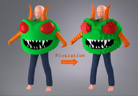 Other Names For Halloween by Cast A Pixelated Glowing Centipede Costume For Halloween Make