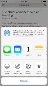 Introducing Peace my privacy focused iOS 9 ad blocker – Marco