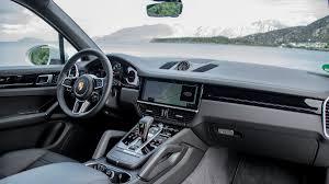 Gallery 2019 Porsche Cayenne S interior A
