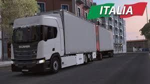 ETS2 - Italy DLC - New Generation Scania TANDEM - Bari To Catania ...