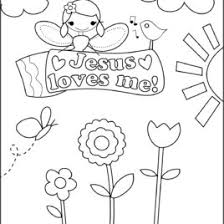 4 Best Images Of Jesus Loves You Coloring Printables