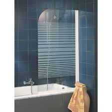 si e baignoire pivotant pare baignoire pivotant 80x140 cm paroi de baignoire pliante
