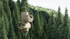 100 Tree House Studio Wood Precht Designs Modular Tree House Inspired By Cartoon Characters