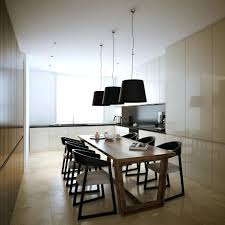 Contemporary Pendant Lighting For Dining Room Table Design Ideas