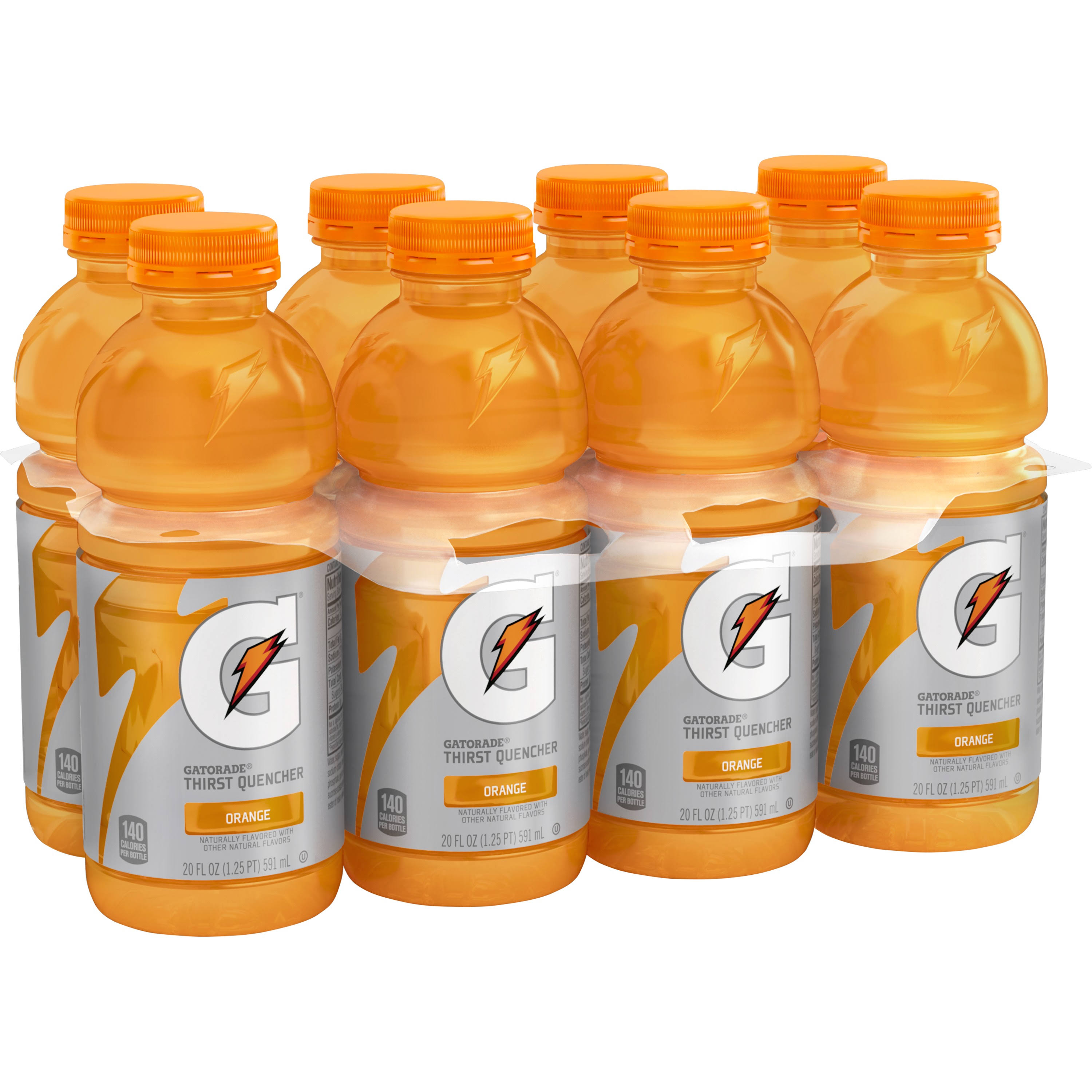 Gatorade Thirst Quencher - Orange, 20oz