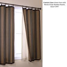 Heat Insulating Curtain Liner by Long Curtain Rods Home Depot Curtains Gallery