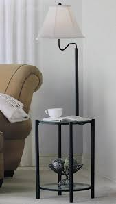 Mainstays Floor Lamp With Reading Light Assembly by Mainstays Glass Furniture Floor Lamp Matte Black Finish