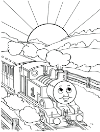 Coloring Pages Printable Thomas Colouring Printables Party Invitations Free The Tank Face
