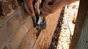 Fixing A Leaking Faucet Handle by Repair Leaky Handle Outdoor Garden Faucet Self Forming Graphite