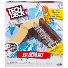 Amazon Tech Deck Scooter by Amazon Com Tech Deck Starter Kit Ramp Set And Board Toys U0026 Games