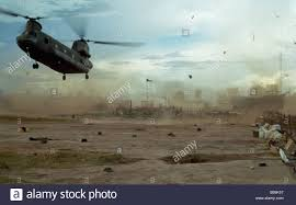 100 Flying Cloud Camp VIETNAM War Helicopter Landing And Flying Shrapnel With Dust