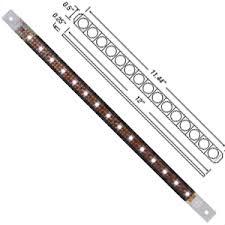 12 inch led marker clearance flush mount light bar