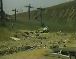 The Crash Site Near Ski Hill