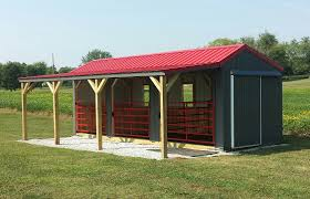 10x20 Metal Storage Shed by Run In Sheds