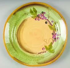 Clay Art Rustic Vines Dinner Plate
