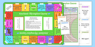 Ancient Olympics Boardgame