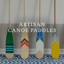 Decorative Oars And Paddles by Norquay Co Handcrafted Artisan Painted Canoe Paddles