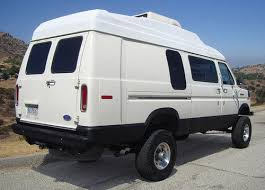 4x4 4WD Quadravan 117k Mi Extended Conversion Van High Roof Expedition RV Lifted