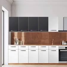 klebefolie für die küche wandschrank 160 cm breite grau