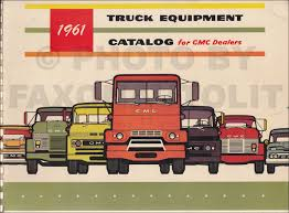 1961 GMC Equipment Catalog Dealer Album Original